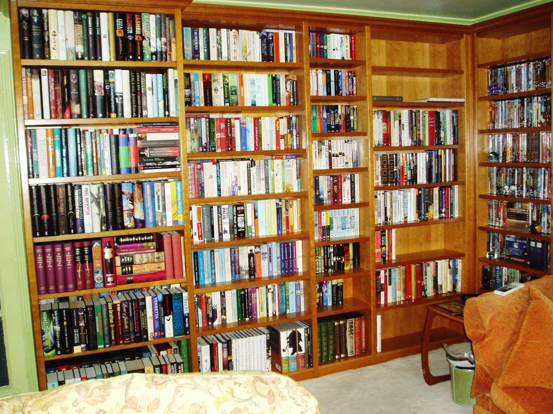 the bride s bookshelves