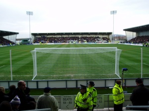 St Mirren Park 31 January 2009